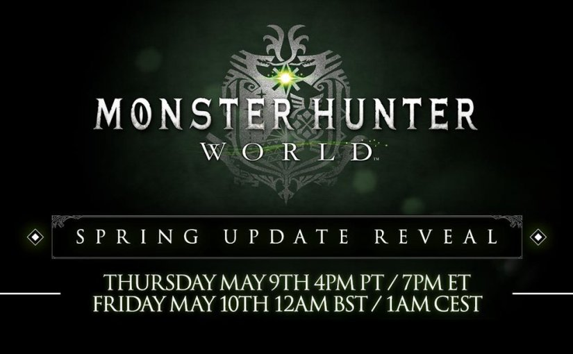 Monster Hunter: World Spring Update Reveal Coming This Week