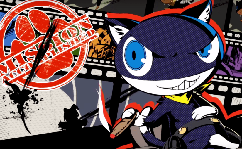 Persona 5 Morgana's Report #1 Video Released, Morgana Narrates The New Updates