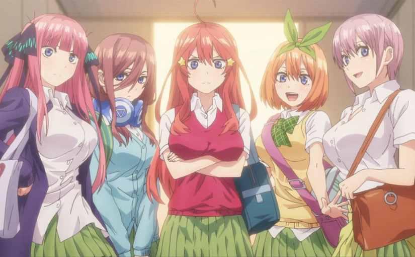 5-toubun no Hanayome Season 2Announced